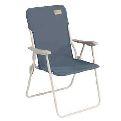 Outwell Folding Camping Chair Blackpool Ocean Blue Beach