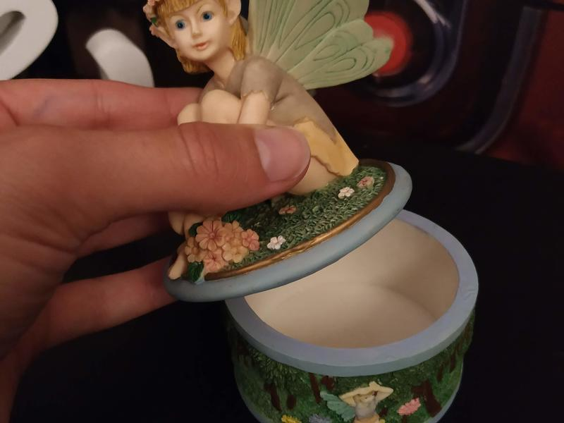 Small fairy jewellery boxes