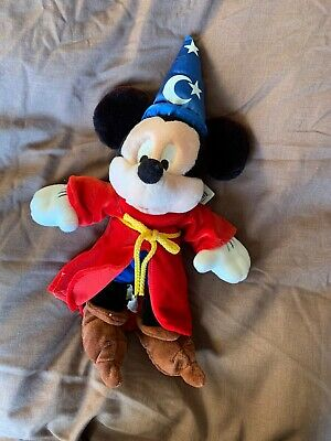 Walt Disney World Sorcerer Mickey Plush Toy