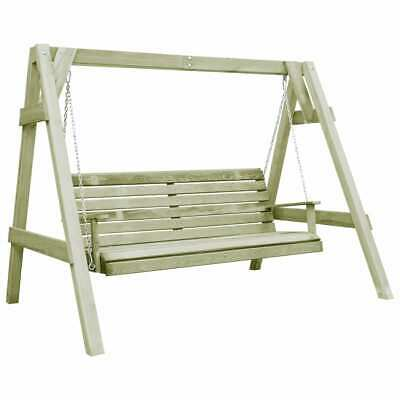 vidaXL Garden Swing Chair Impregnated Pinewood 205x150x157cm