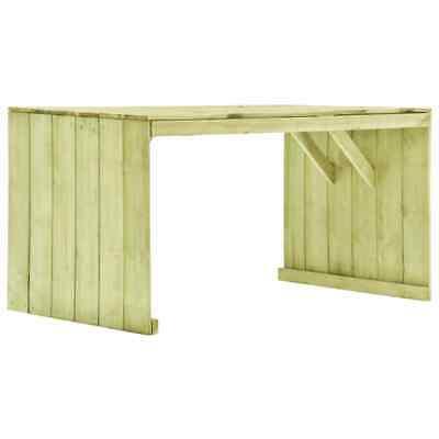 vidaXL Garden Table Impregnated Pinewood 150cm Outdoor