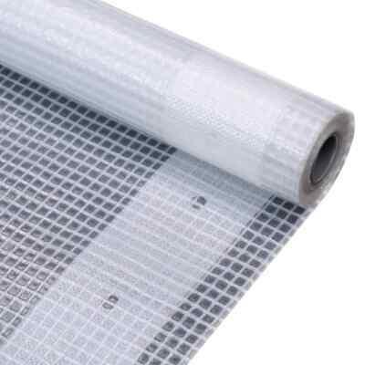 vidaXL Leno Tarpaulin 1.5x5m White Ground Sheet Cover