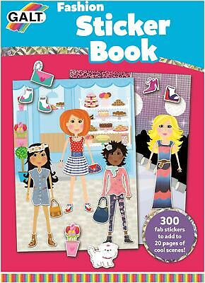 Galt FASHION STICKER BOOK Kids Art Craft Toy BN