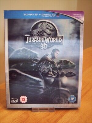 Jurassic World 3D Blu Ray