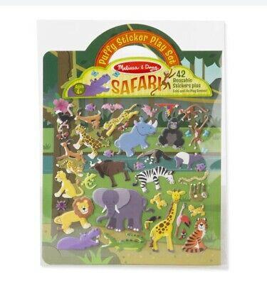 Melissa & Doug Jungle Animals Puffy Sticker Play Set -