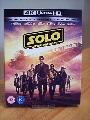 Solo: A Star Wars Story 4K UHD Blu-ray