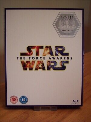 Star Wars: The Force Awakens Blu-Ray () Harrison Ford,