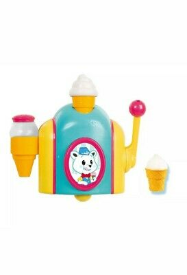 Tomy Bath Foam Pretend Ice Cream Cone Factory Bath Toy.*new