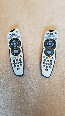 2 x Genuine SKY111 Sky+ Rev 8 Remote Control Tested and