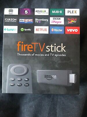 Amazon Fire TV Stick (1st Generation) Media Streamer - Black
