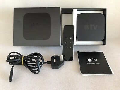 Apple TV (4th Generation) 32GB HD Media Streamer - A