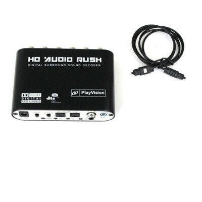 Audio 5.1-CH AC3 DTS Digital Sound Decoder Optical SPDIF