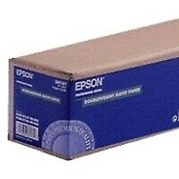 "Epson Doubleweight Matte Paper Roll, 24"" x 25 m, 180g/m² -"