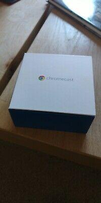 Google Chromecast Digital HD Media Streamer HDMI Wifi Black