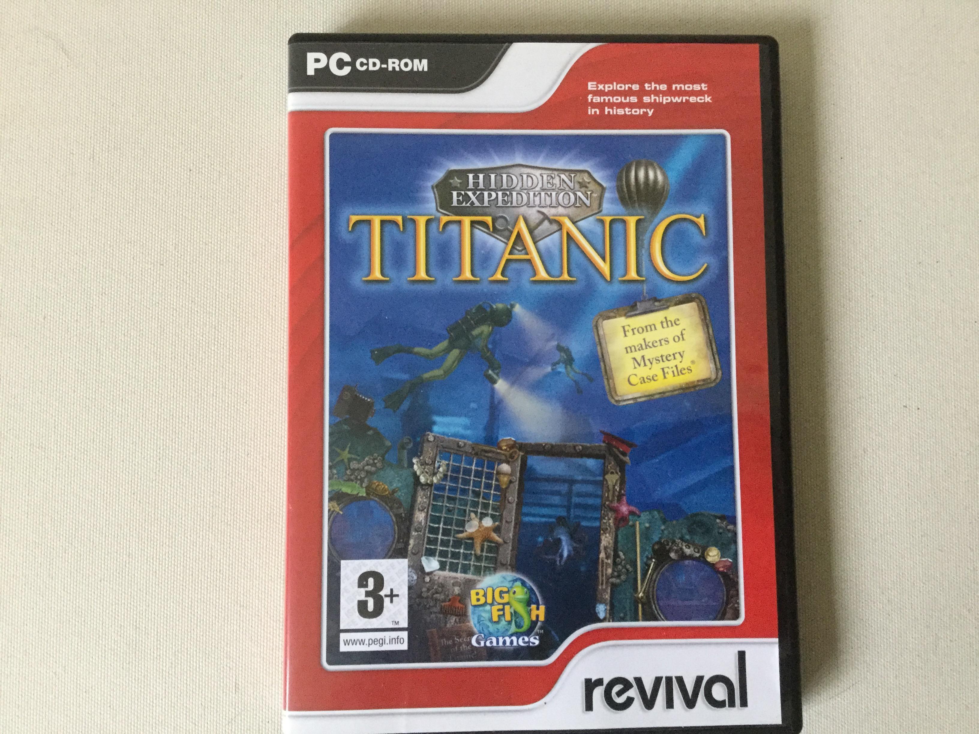 PC CD ROM TITANIC