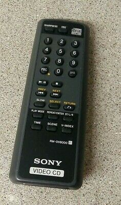 Sony Video CD Compact Disc Remote Control RM-DV. Genuine
