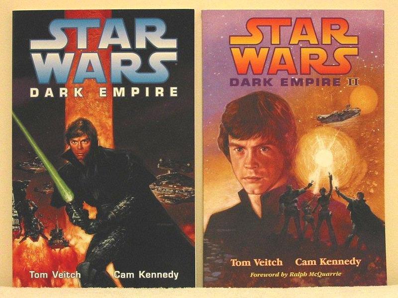 Star Wars Dark Empire Graphic Novels & Figures