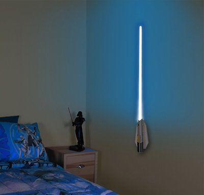 Star Wars Science Obi Wan Kenobi Lightsabre Room Light X2