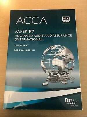 ACCA P7 Advanced Audit and Assurance (International): Study