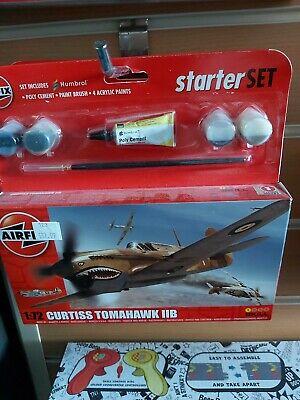 Brand New Airfix 1:72nd Scale Curtiss Tomahawk Mk.IIB
