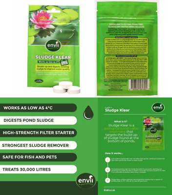 Envii Sludge Klear – Removes Pond Sludge & Unpleasant