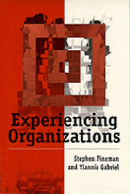 Experiencing organizations by Stephen Fineman (Paperback /