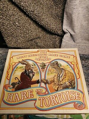 Hare and Tortoise Board Game by Gibsons  Rare Vintage