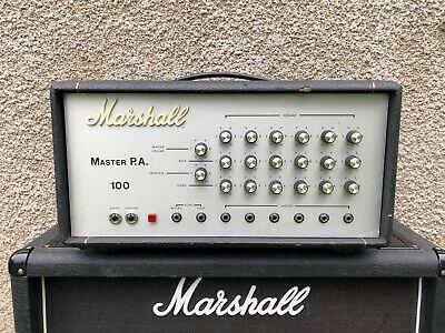 Marshall  Master PA 100w Valve Amp, Guitar/Bass,
