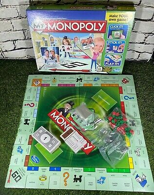My Monopoly Make Your Own Game Edition Family Board Game