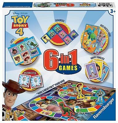 Ravensburger Toy Story 4 6 in 1 Board Games Box