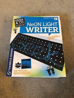 Thames and Kosmos Neon Light Writer Science Kit