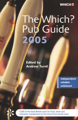 The Which? pub guide  by Andrew Turvil (Paperback /