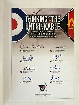 Thinking The Unthinkable by Nigel Walpole stories by RAF and