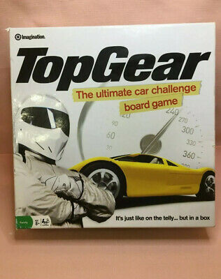 TopGear The Ultimate Car Challenge Family Board Game 100%