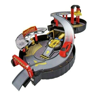 Chad Valley Foldable Wheel Garage Playset with Car
