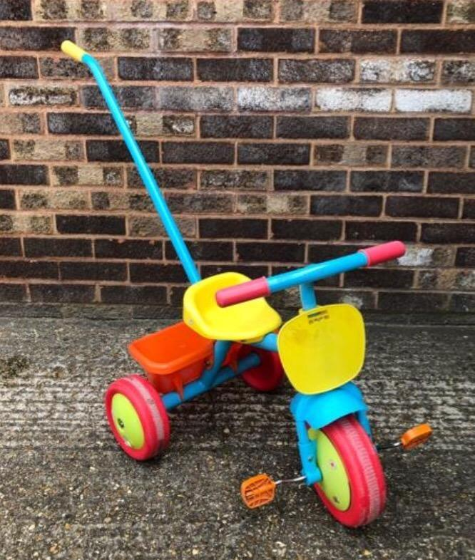 Children's Kids Trike Tricycle with detachable parent