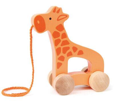 E HAPE Giraffe Wood Pull Push Along [Push & Pull] Baby