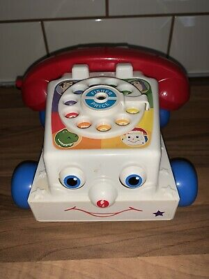 Fisher Price Classic Retro Childrens Chatter Telephone Toy