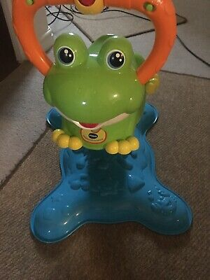 Fisher- Price K Bounce & Spin Frog Toy - Green