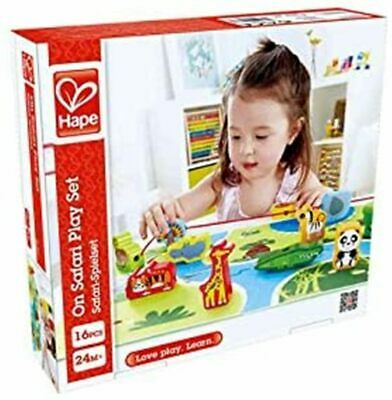 Hape HAP-E On Safari Play Set Threading Set