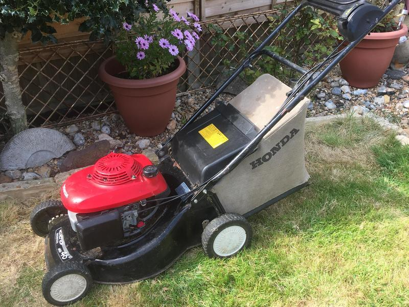 Honda Hrg 46c self propelled petrol lawnmower
