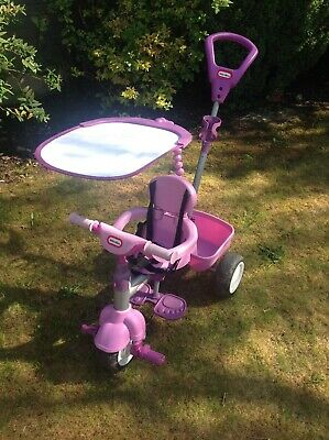 Little Tikes 4-in-1 trike In good condition PURPLE