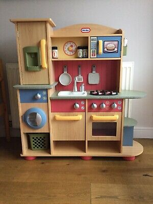 Little Tikes Premium Cooking Creations Wooden Kitchen