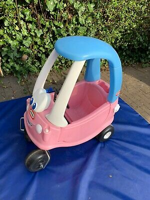 New Little Tikes Cozy Coupe Pink Princess Ride On Kids Car