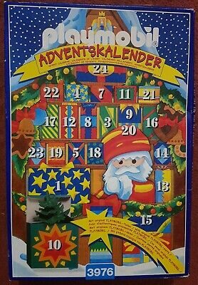 PLAYMOBIL  CHRISTMAS MARKET ADVENT CALENDER VINTAGE