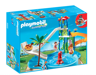 PLAYMOBIL  Summer Fun Water Park with Slides - BRAND NEW