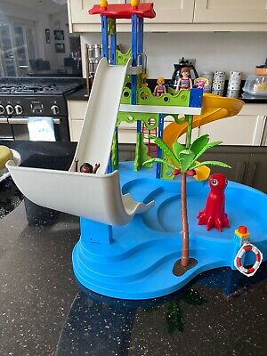 PLAYMOBIL  Summer Fun Water Park with Slides * VGC*