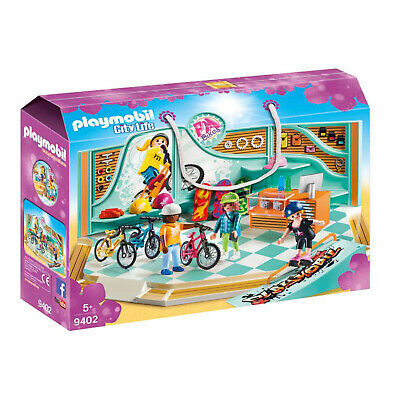 Playmobil Bike & Skate Shop with Ramp City Life