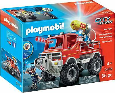 Playmobil  City Action Fire Truck with Cable Winch and