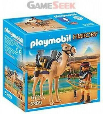 Playmobil  Egyptian Warrior with Camel. Shipping is Free